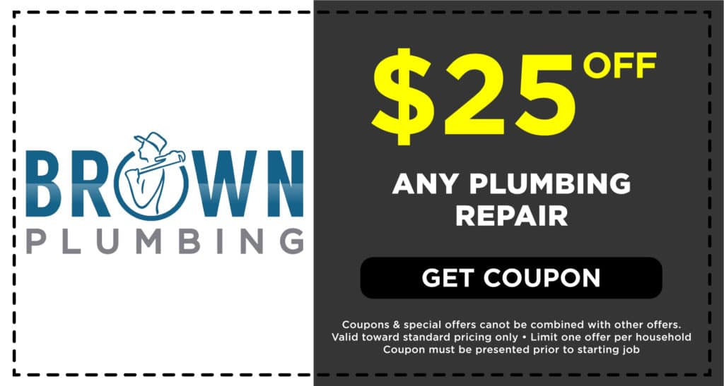 Brown Plumbing Any Plumbing Repair Coupon