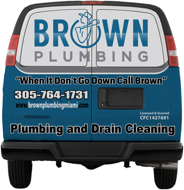 Brown Plumbing Services Van